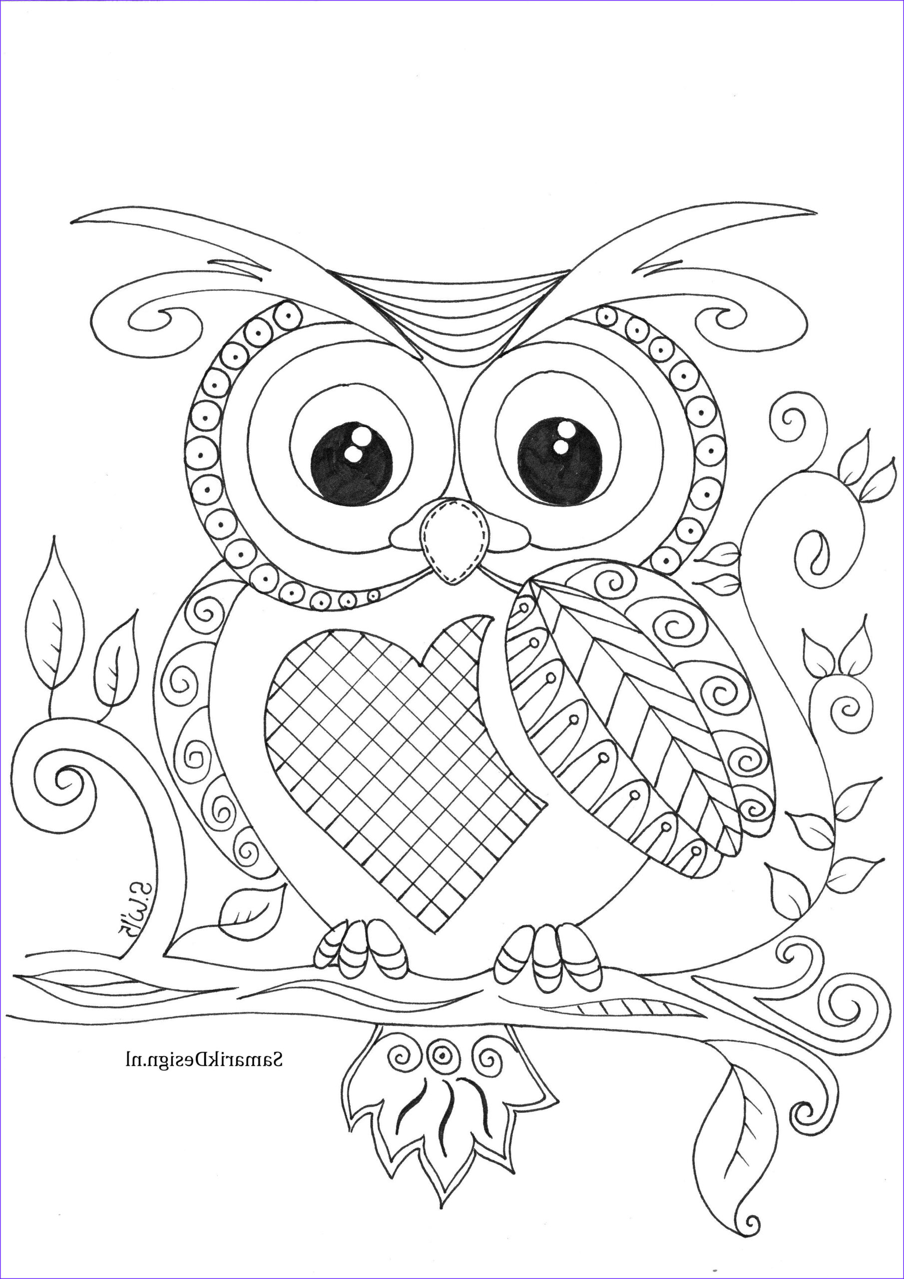 Owl Coloring Pages for Adults Luxury Photography 08c331f15e1b130a6beca4c243f21c8a 2480×3507