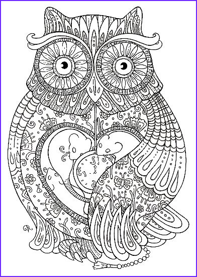 Owl Coloring Unique Image Nocturnal Bird Owl Coloring Pages 34 Pictures Cartoon Clip
