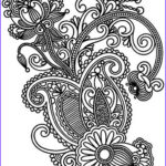 Paisley Coloring Book Inspirational Images Paisley Coloring Page 40 Coloring Paisley