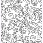 Paisley Coloring Book New Stock Paisley Coloring Page 85 Paisley Pinterest