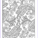 Paisley Coloring Book Unique Image Paisley Coloring Pages Bing