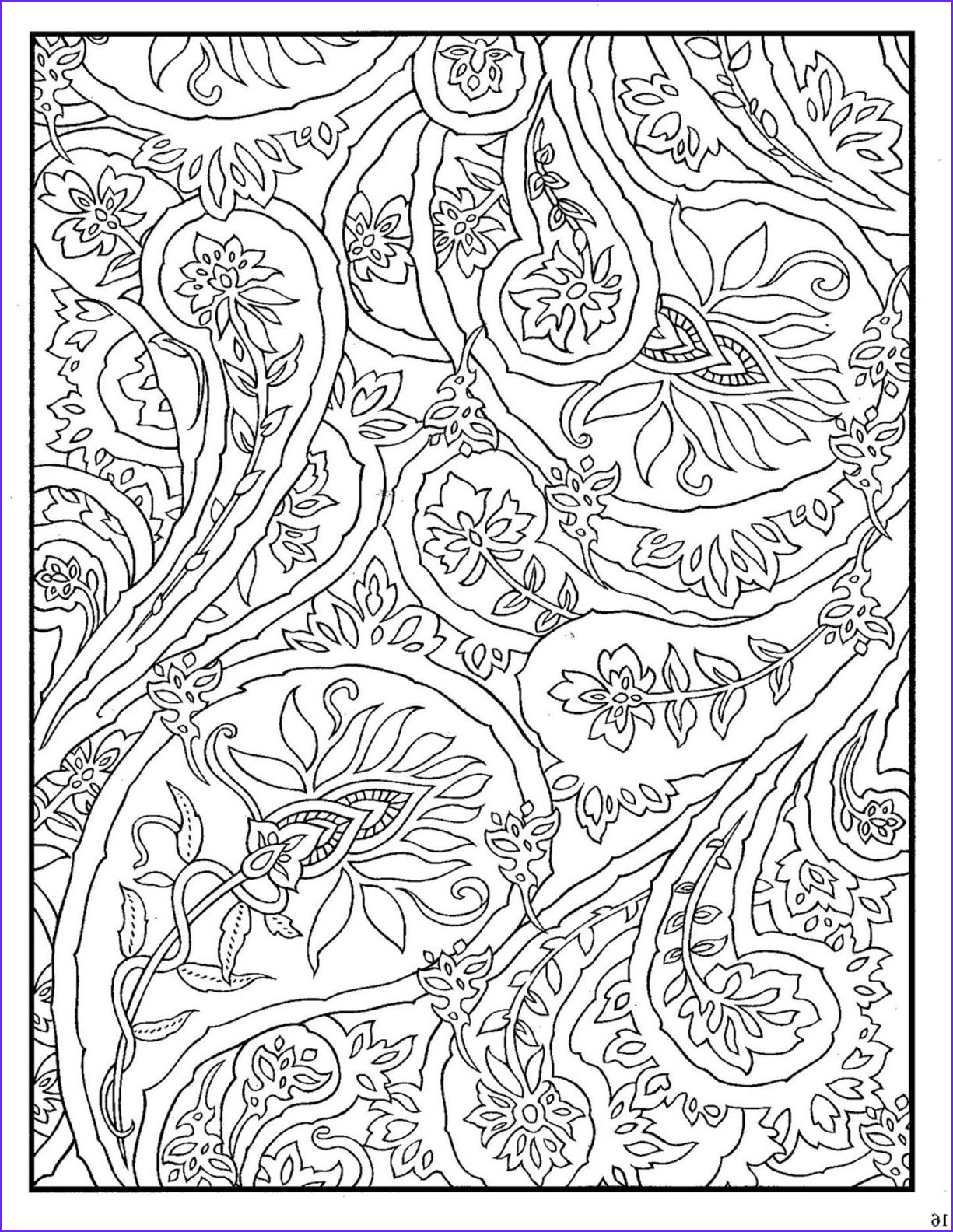 Paisley Coloring Books Best Of Photos Dover Paisley Designs Coloring Book