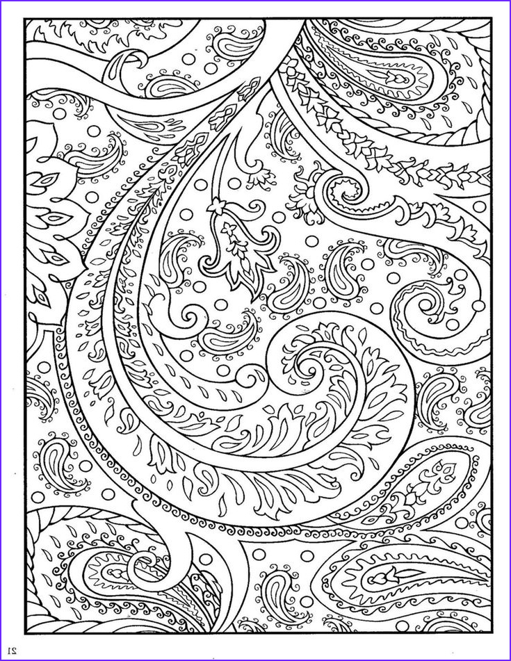 Paisley Coloring Books Cool Stock Dover Paisley Designs Coloring Book