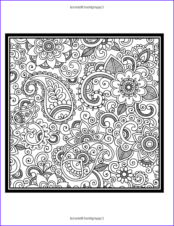 Paisley Coloring Books Elegant Collection Paisley Coloring Book Vol 2 Penny Farthing Graphics
