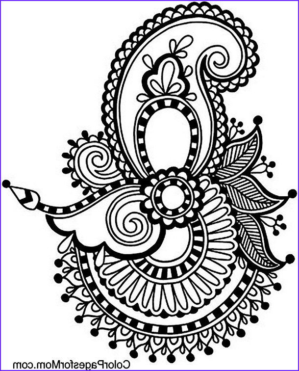 Paisley Coloring Books Elegant Images Paisley Coloring Page 31