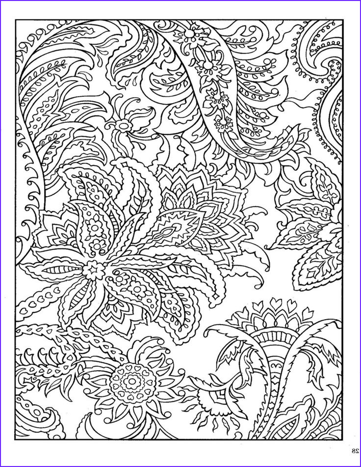 Paisley Coloring Books New Photos Dover Paisley Designs Coloring Book