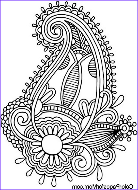 Paisley Coloring Books New Photos