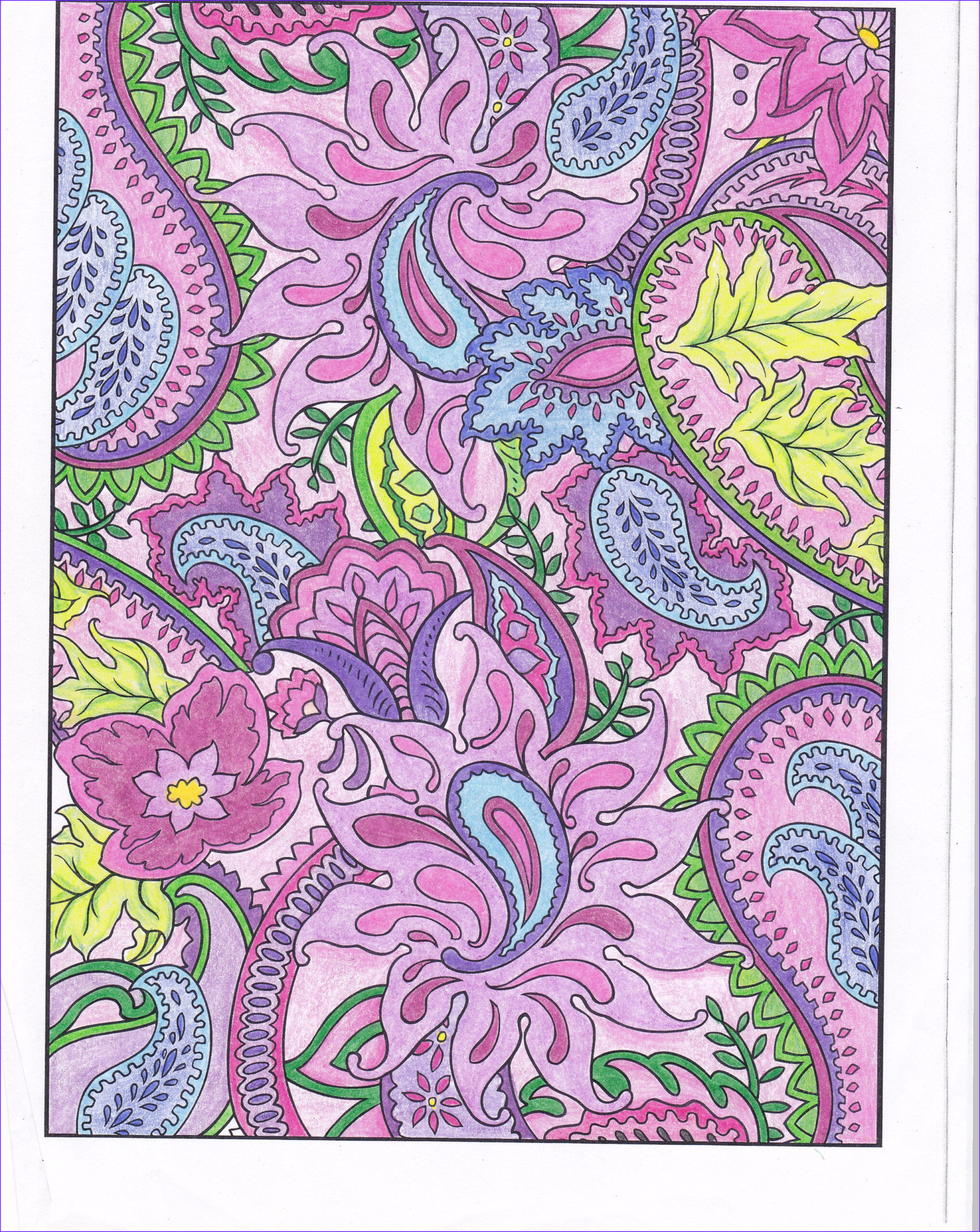 Paisleys Coloring Book Awesome Collection Pin by Dover Publications On soft and Pretty Pastels