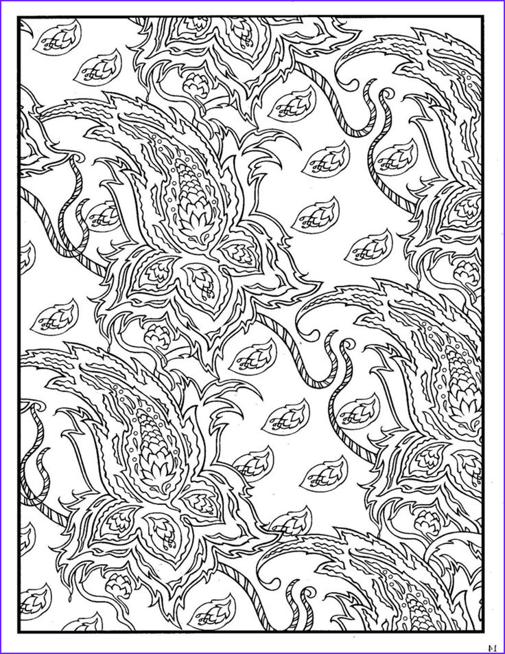 Paisleys Coloring Book Awesome Gallery Dover Paisley Designs Coloring Book