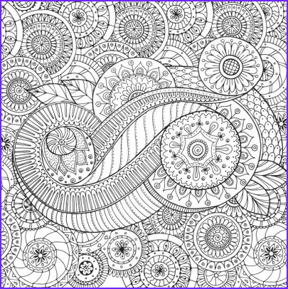 Paisleys Coloring Book Awesome Image Peaceful Paisleys Design Artist S Coloring Book by Peter