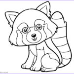 Panda Coloring Sheet Beautiful Collection Red Panda Coloring Pages Clipart Free Printable Coloring