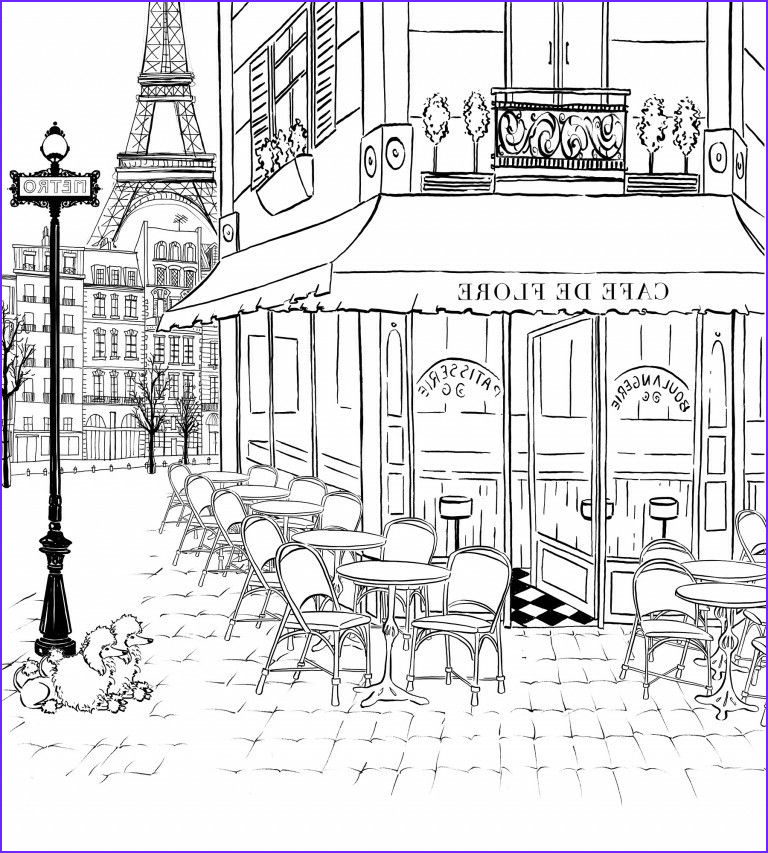 Paris Coloring Book Elegant Photos Pin by Yvonne Wee On Hand Drawn