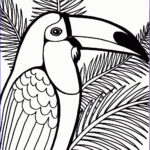 Parrot Coloring Pages Inspirational Image Free Printable Parrot Coloring Pages For Kids