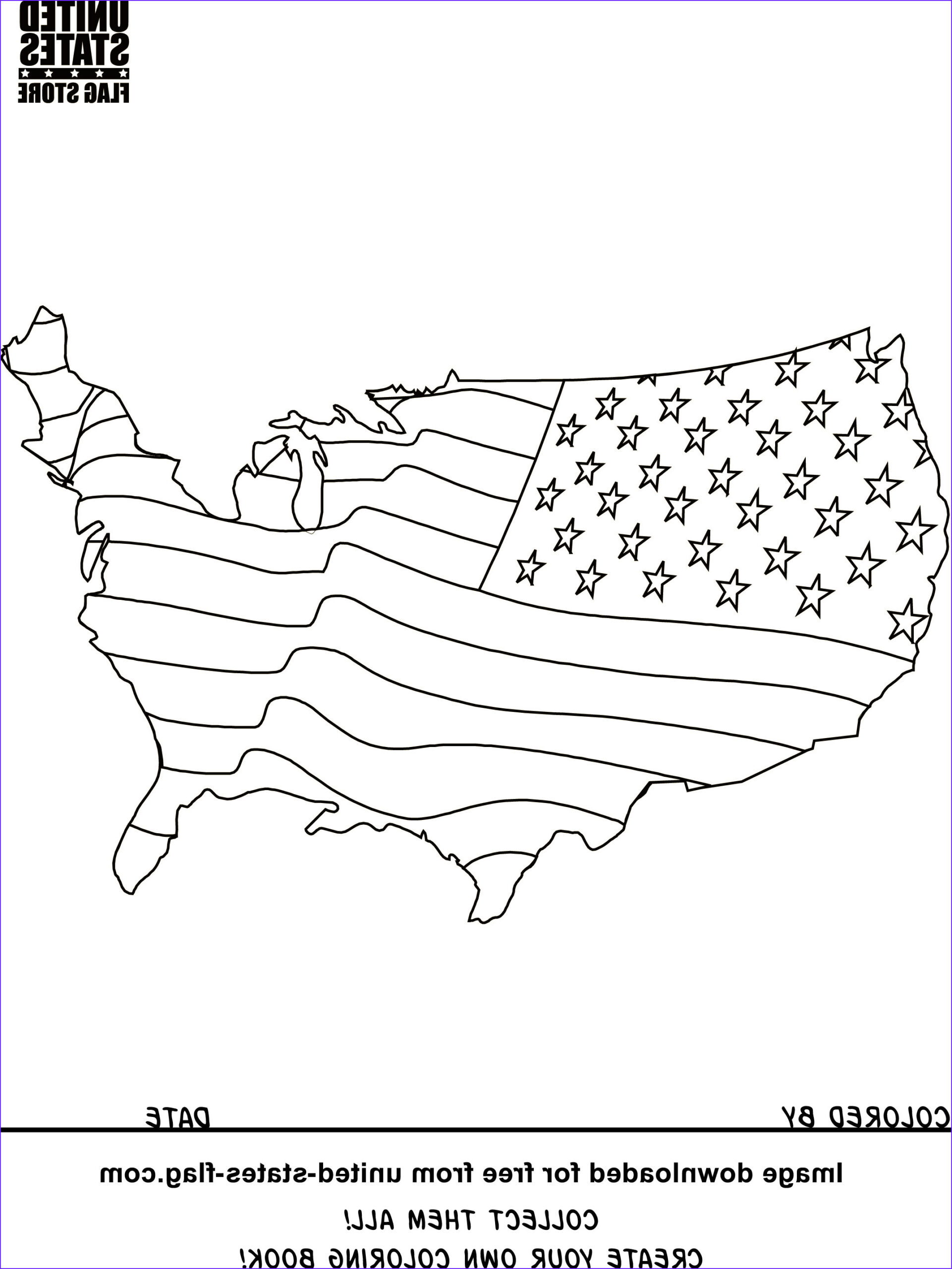 Patriotic Coloring Beautiful Gallery Free American Flag Coloring Pages