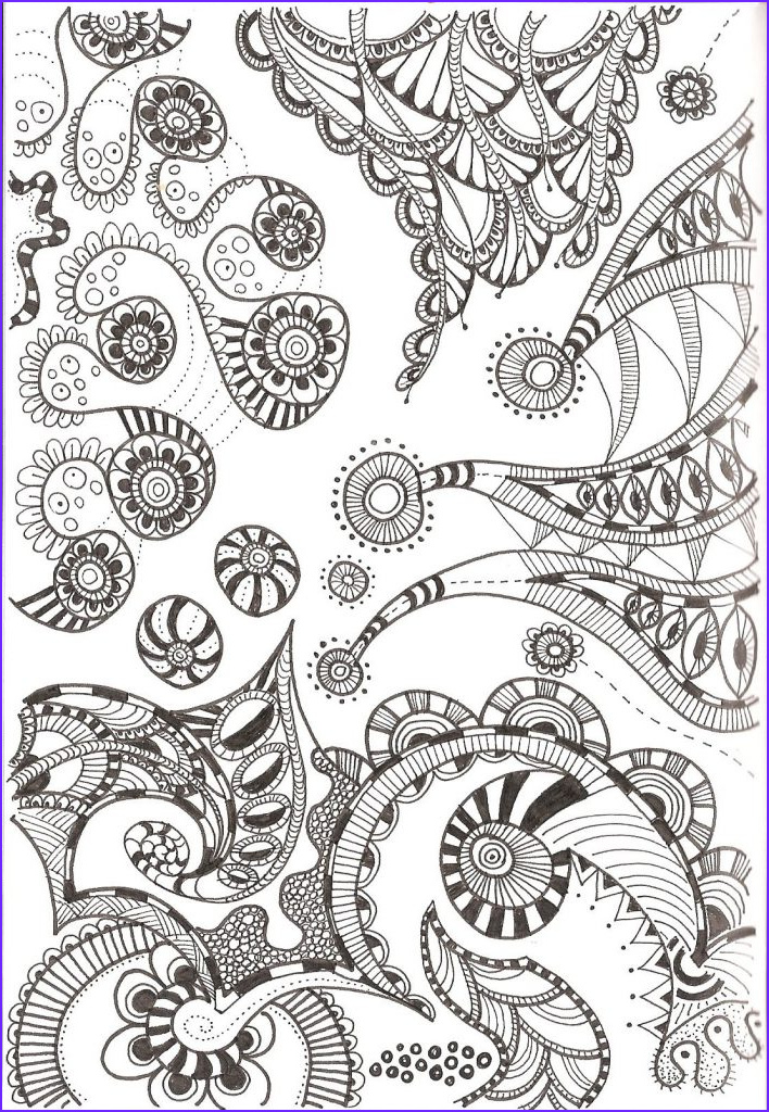 Pattern Coloring Beautiful Photos Free Printable Zentangle Coloring Pages for Adults