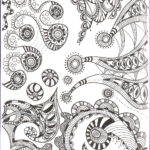 Pattern Coloring Best Of Collection Free Printable Zentangle Coloring Pages For Adults