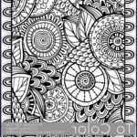Pattern Coloring Books For Adults Awesome Image Printable Coloring Pages For Adults All Over Doodle