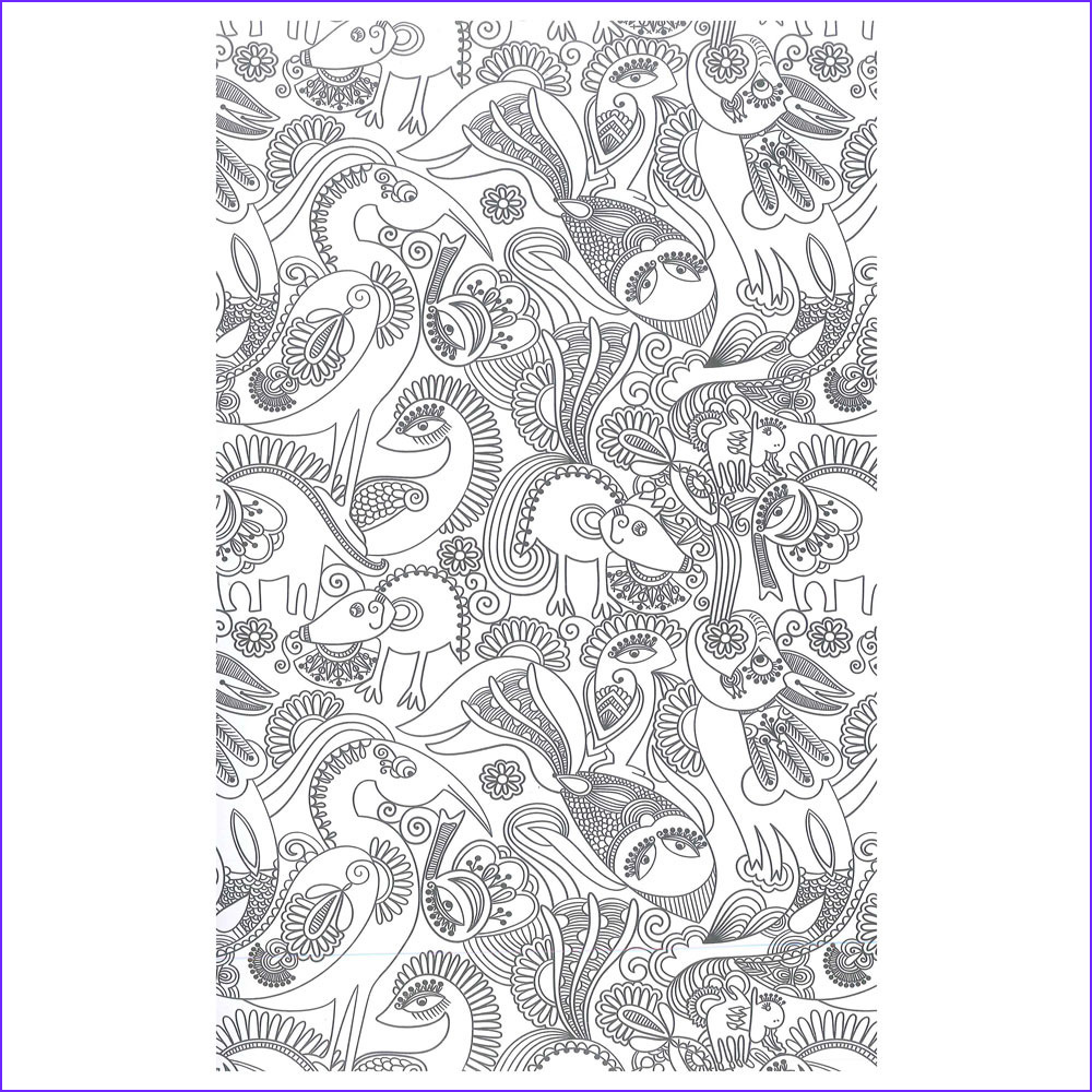 beautiful patterns adult colouring