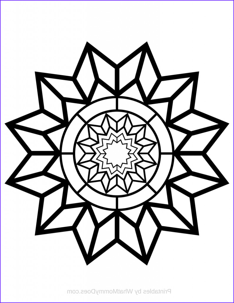 free printable detailed star coloring page