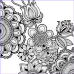Pattern Coloring Books For Adults Inspirational Gallery Illustration And Motion News
