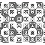 Pattern Coloring Books For Adults Unique Images Free Square Quilt Pattern Adult Coloring Page