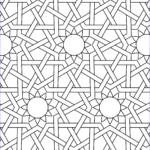 Pattern Coloring Unique Photos Islamic Ornament Mosaic Coloring Page