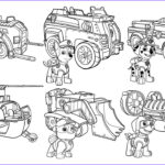 Paw Patrol Coloring Book Awesome Images Paw Patrol Vehicles Coloring Pages For Kids