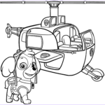 Paw Patrol Coloring Book Beautiful Image Paw Patrol Skye S Helicopter Coloring Page