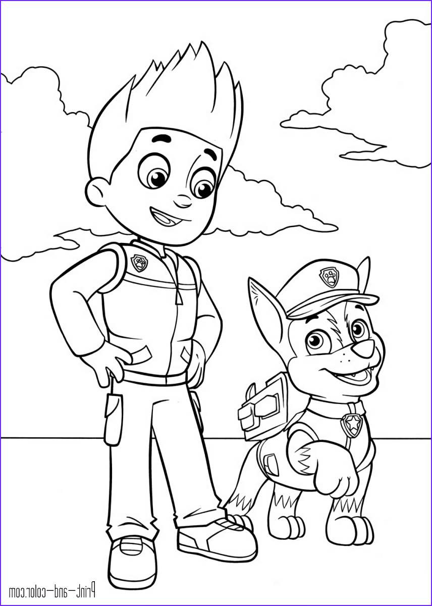 Paw Patrol Coloring Book Beautiful Stock Paw Patrol Coloring Pages