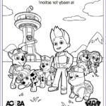 Paw Patrol Coloring Book Best Of Images Free Printable Paw Patrol Coloring Pages For Kids