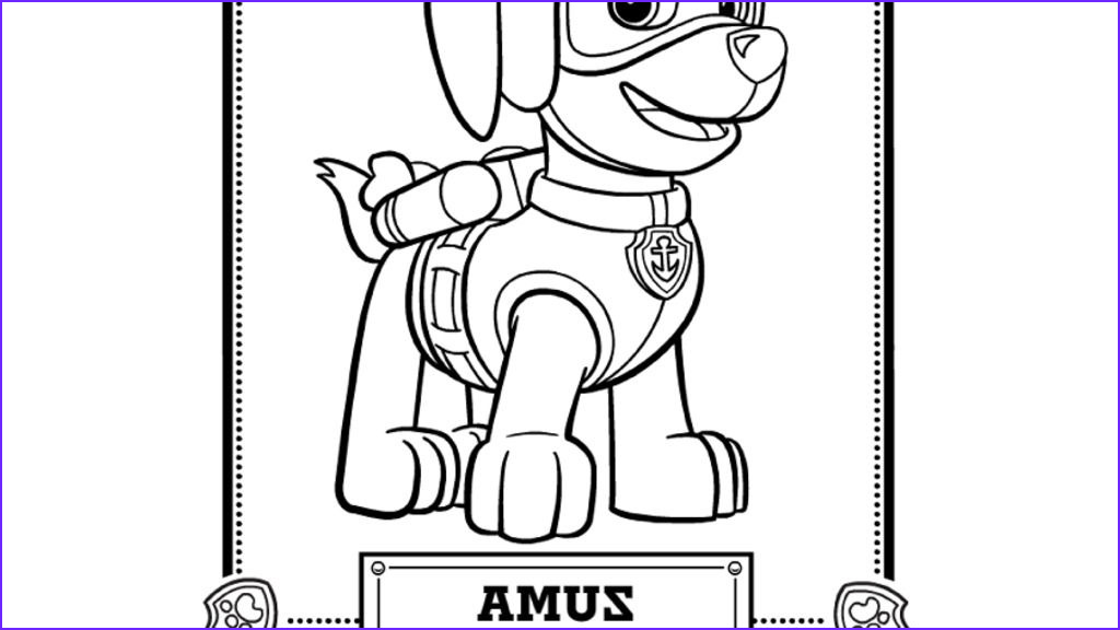 Paw Patrol Coloring Book Best Of Photography Paw Patrol Paw Patrol Meet Zuma Colouring Pages for