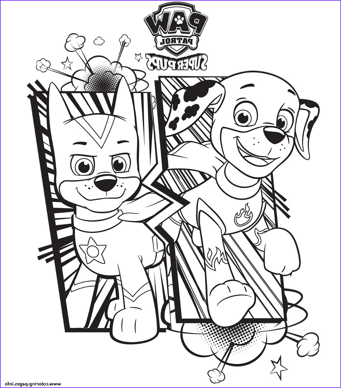 Paw Patrol Coloring Book Luxury Image Free Paw Patrol Coloring Pages Happiness is Homemade