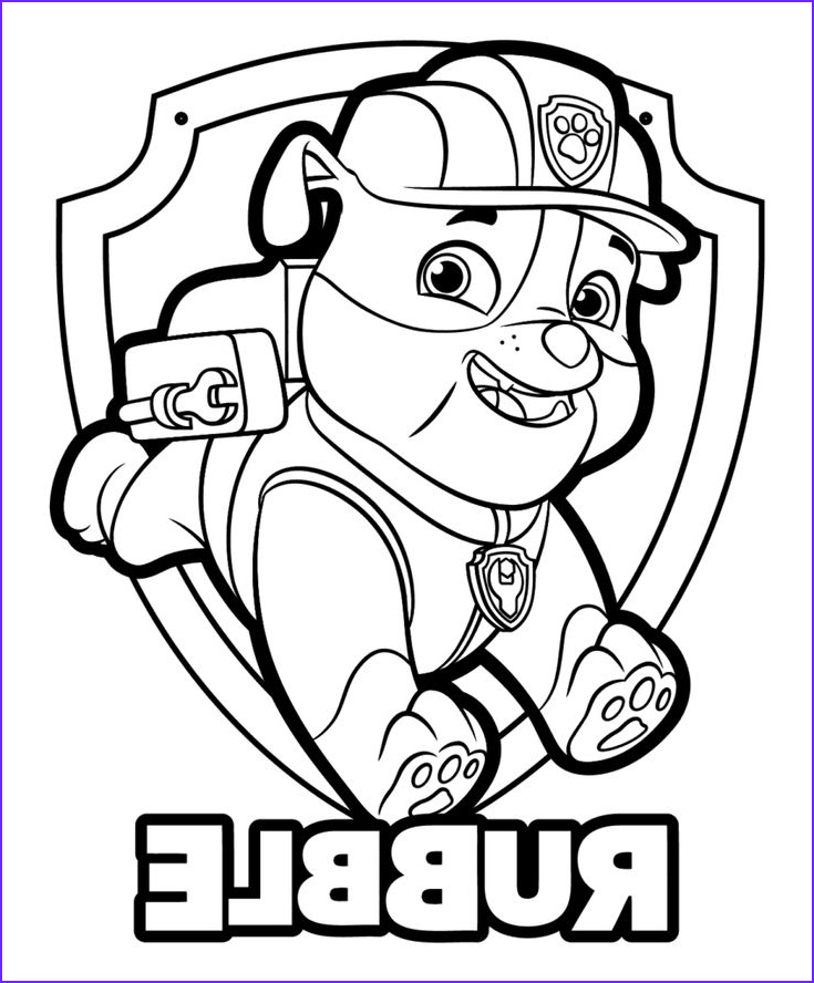 Paw Patrol Coloring Books Unique Collection Paw Patrol Coloring Pages