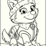 Paw Patrol Coloring Pages Beautiful Photos Paw Patrol Everest Coloring Pages Coloring Pages