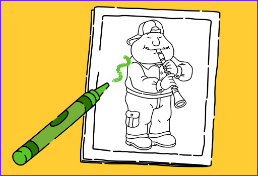 Pbs Coloring Pages Awesome Stock Arthur Activities
