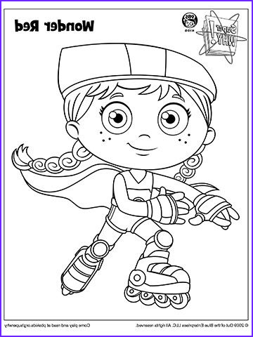 Pbs Coloring Pages Beautiful Image Super why Coloring Book Pages From Pbs