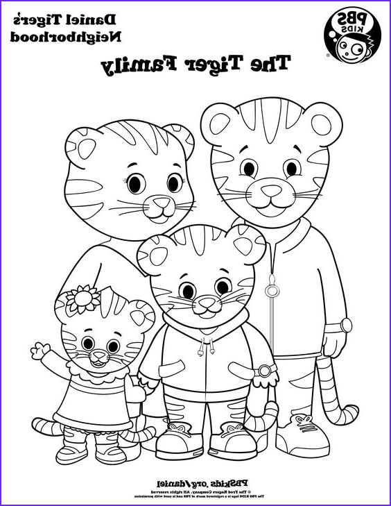 Pbs Coloring Pages Beautiful Images Coloring Daniel Tiger S Neighborhood Pbs Kids