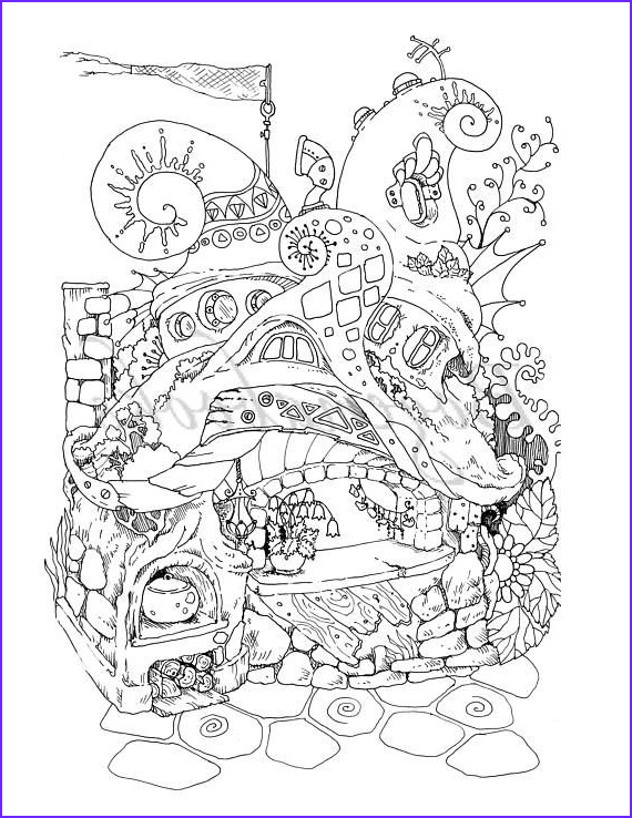 Pdf Coloring Pages Cool Photography Nice Little town 4 Adult Coloring Book Coloring Pages