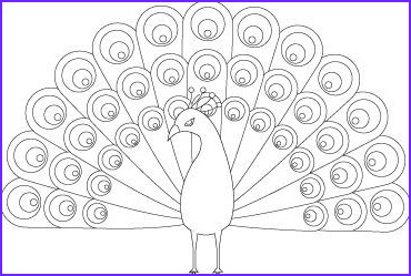 Peacock Coloring Book Luxury Photos Peacock Animal Coloring Pages