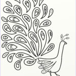 Peacock Coloring New Images Peacock Coloring Pages
