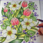 Pencils For Adult Coloring Books Beautiful Gallery Happy Garden Blomstermandala Coloring Book