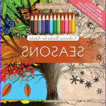 Pencils For Adult Coloring Books Best Of Images Seasons Adult Coloring Book Set With 24 Colored Pencils