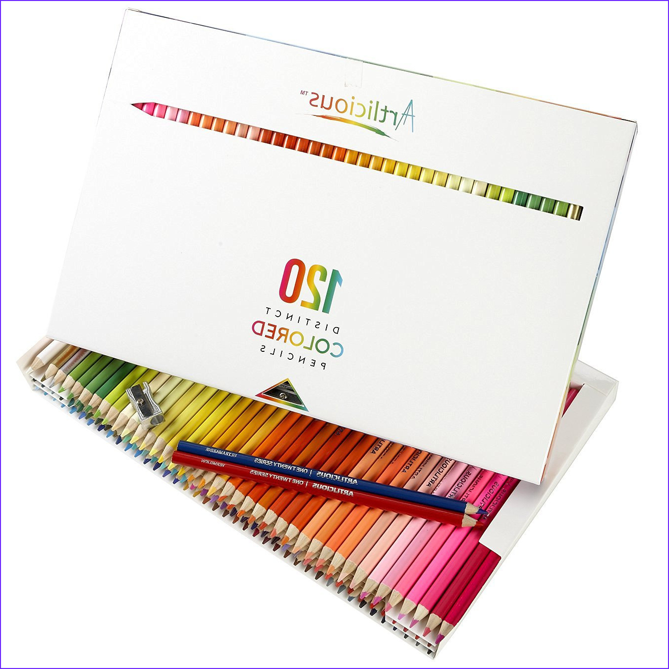120 colored coloring pencils adult