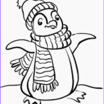 Penguin Coloring Sheet Awesome Stock Colours Drawing Wallpaper Cute Baby Penguin Colour