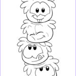 Penguin Coloring Sheet Best Of Image Free Printable Puffle Coloring Pages For Kids