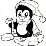 Penguin Coloring Sheet Best Of Images Cute Penguin Christmas Coloring Pages