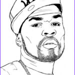 People Coloring Cool Images Coloring Page 50 Cent