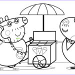 Peppa Pig Coloring Book Cool Collection Ice Cream Car Coloring Pages Drawing Pages With Peppa Pig