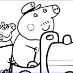 Peppa Pig Coloring Book Cool Photos Peppa Pig Train Drawing & Coloring With Pencils