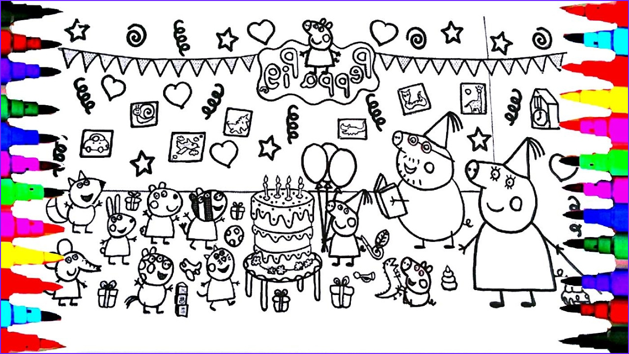 Peppa Pig Coloring Book Elegant Images Peppa Pig Coloring Book Pages Kids Fun Art Activities for